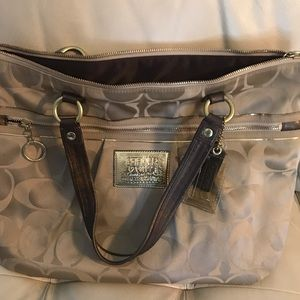 Coach Bags - Large Coach Poppy  bag in brown